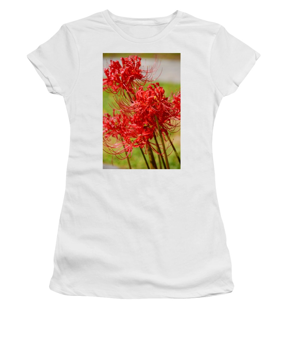 Photography Women's T-Shirt (Athletic Fit) featuring the photograph The Virgins by Susanne Van Hulst