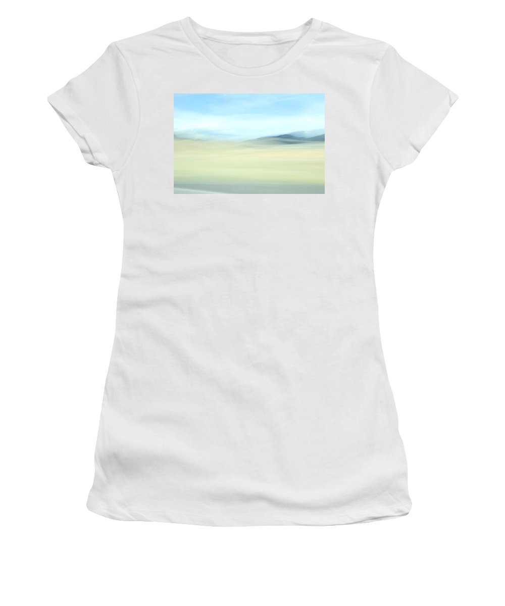 Women's T-Shirt (Athletic Fit) featuring the photograph The West by Kevin Cote