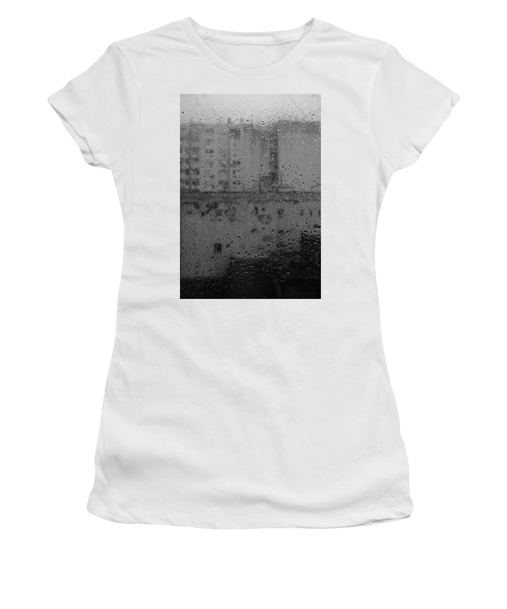 Buenos Aires Women's T-Shirt (Athletic Fit) featuring the photograph This Afternoon V by Osvaldo Hamer
