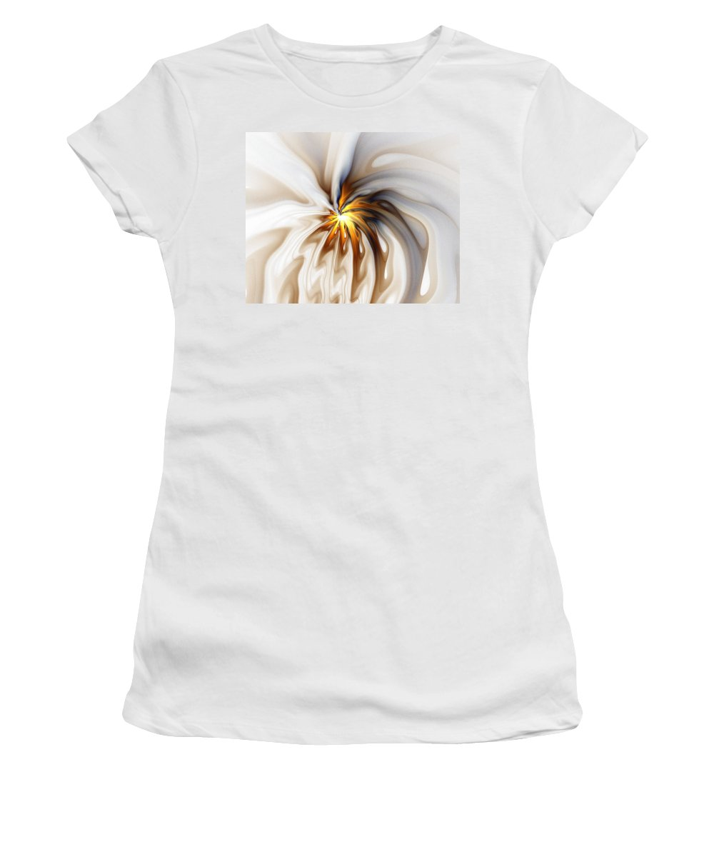 Digital Art Women's T-Shirt (Athletic Fit) featuring the digital art This Too Will Pass... by Amanda Moore