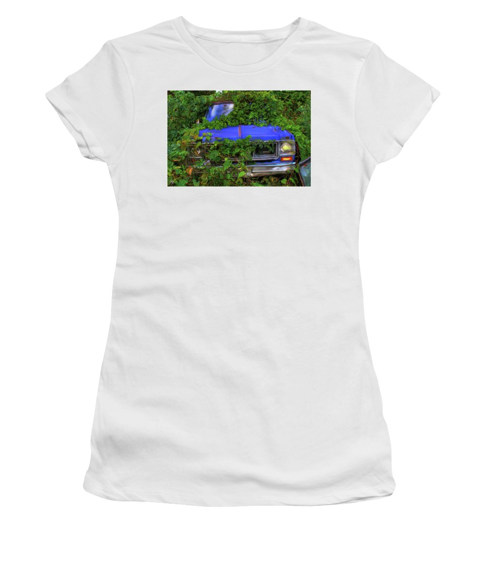 Weeds Women's T-Shirt featuring the photograph Those Pesky Weeds by Wayne King