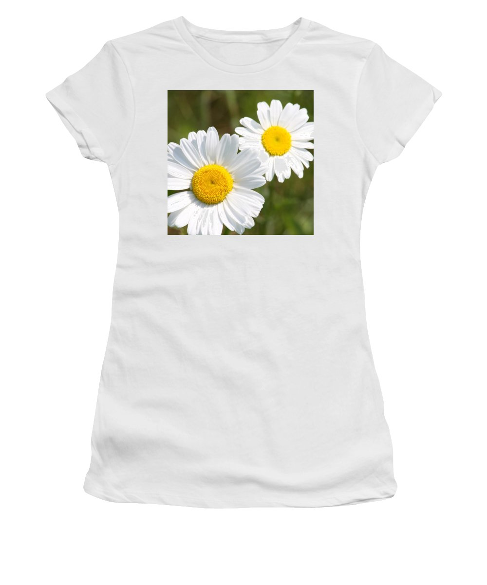 Flowers Women's T-Shirt (Athletic Fit) featuring the photograph Tinies by Patricia Healey