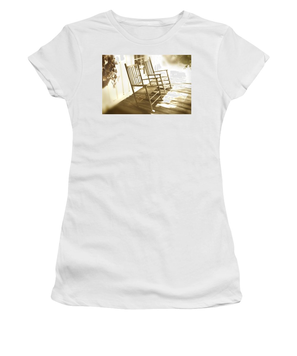 Together Women's T-Shirt (Athletic Fit) featuring the photograph Together by Mal Bray
