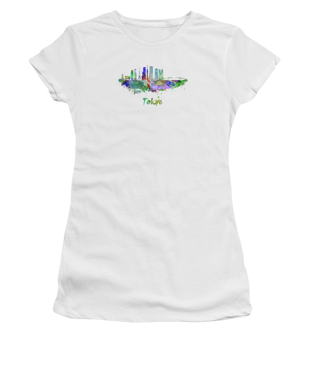 Tokyo Skyline Junior T-Shirts