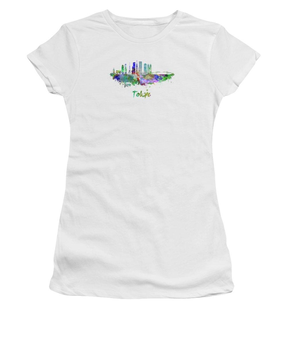 Tokyo Skyline Women's T-Shirts