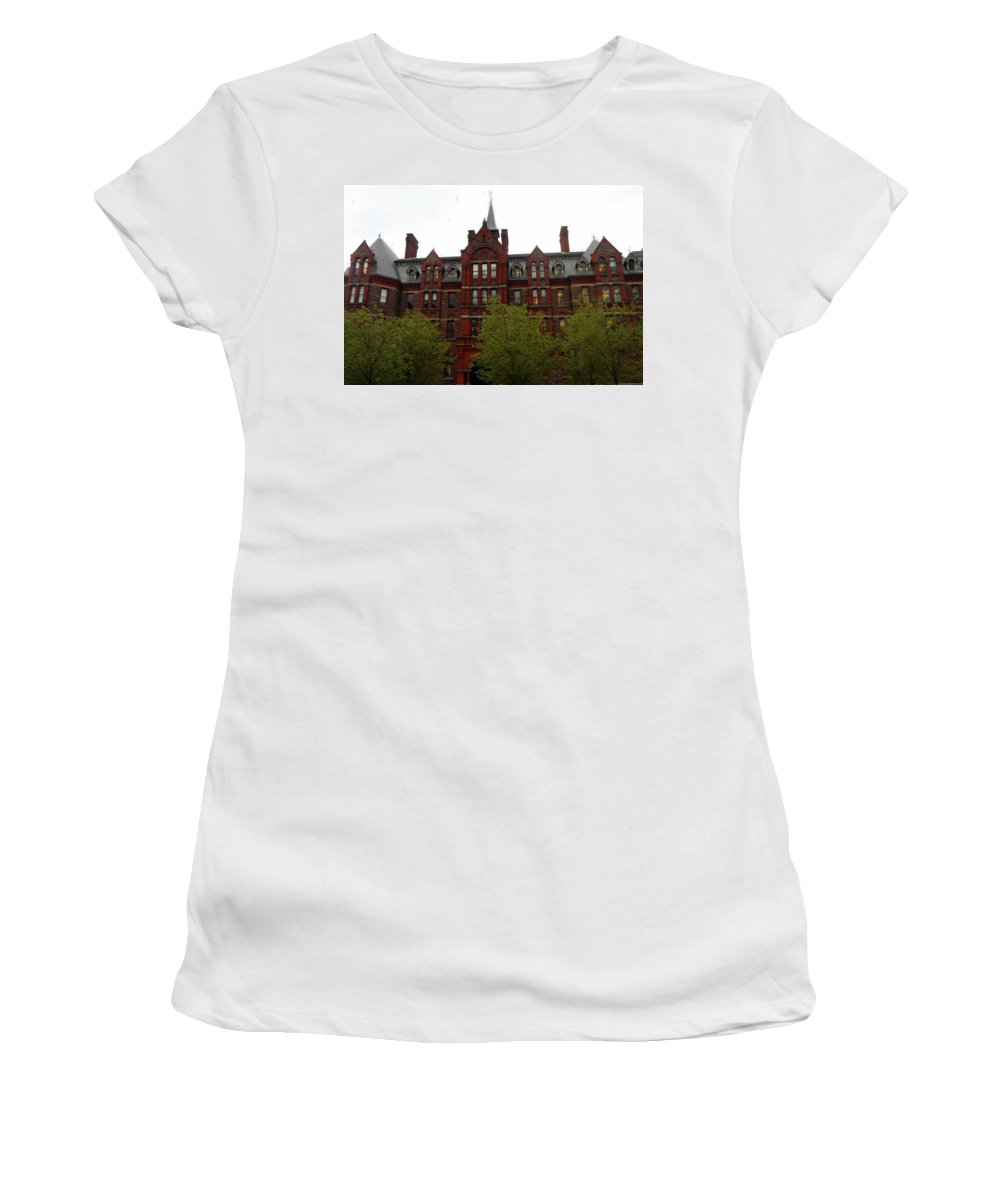 Toronto Women's T-Shirt (Athletic Fit) featuring the photograph Toronto 19 by Ron Kandt