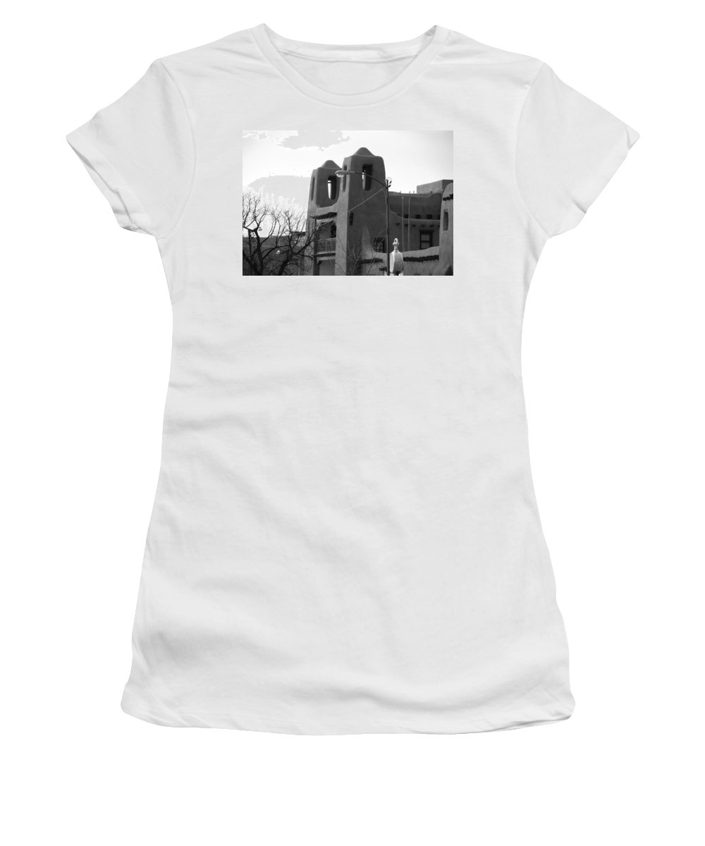 Architecture Women's T-Shirt featuring the photograph Town Hall by Rob Hans