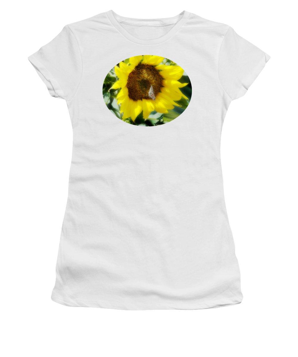 Vanessa Women's T-Shirt featuring the photograph Vanessa by Anita Faye