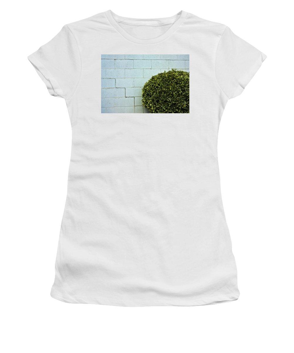 Wall Women's T-Shirt (Athletic Fit) featuring the photograph Wall Art by Hannah Breidenbach