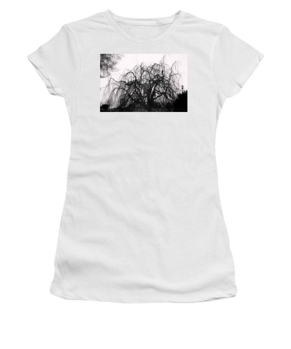 Garden Women's T-Shirt (Athletic Fit) featuring the photograph Wickedly Beautiful by Deborah Crew-Johnson