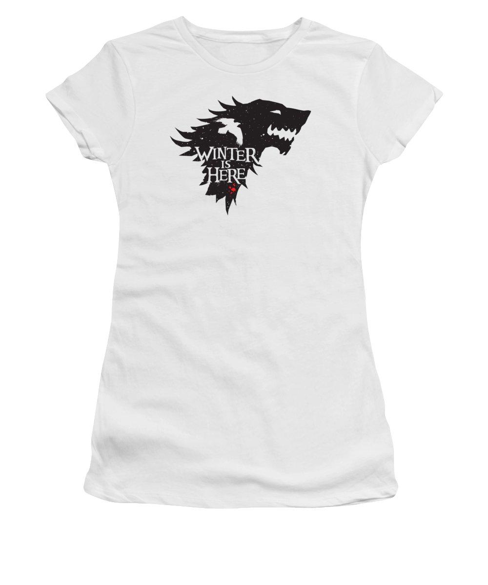 Winter Snow Women's T-Shirts
