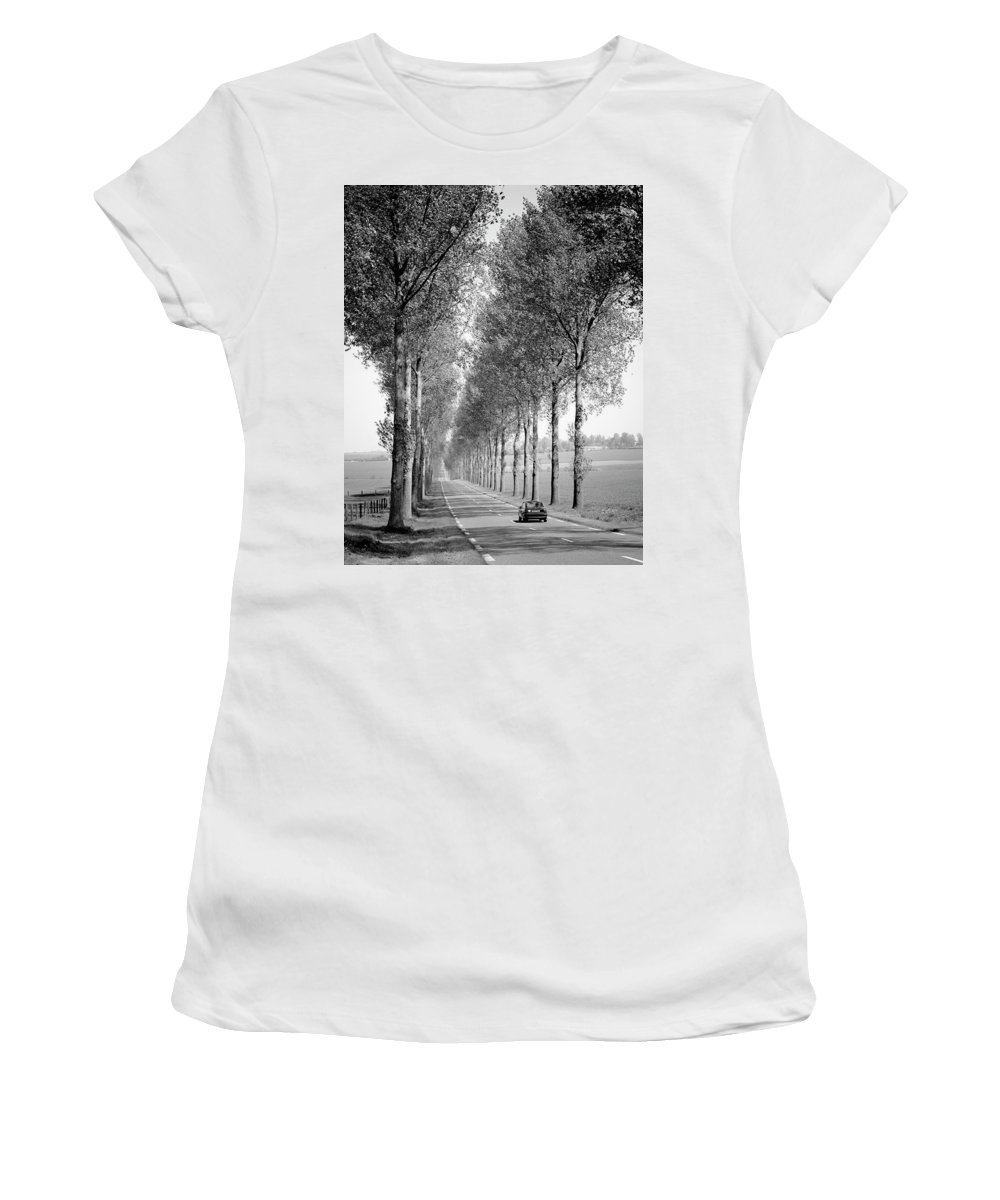 122693 Women's T-Shirt (Athletic Fit) featuring the photograph Zb4992_190423_0304 by Philip Enticknap