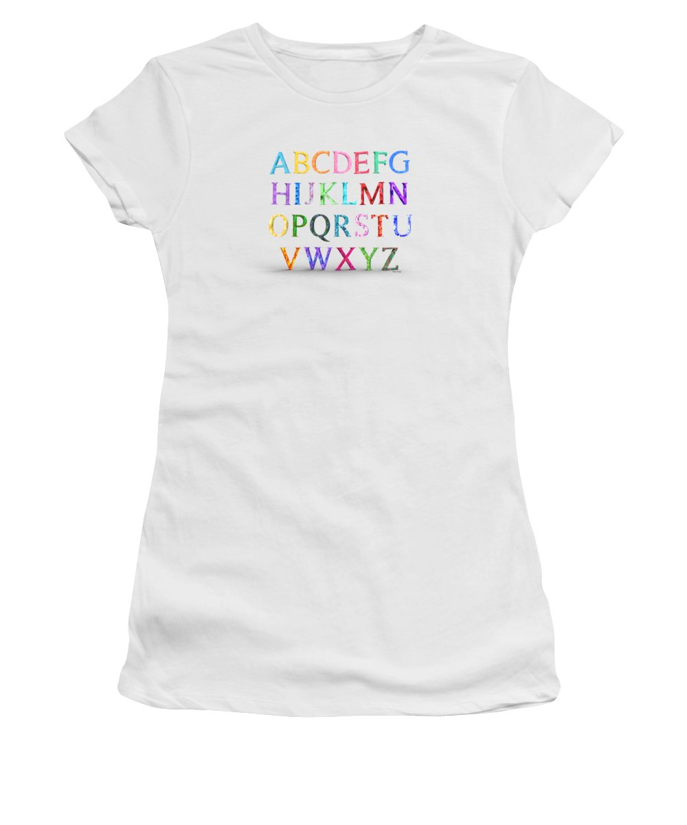 Alphabet Women's T-Shirts