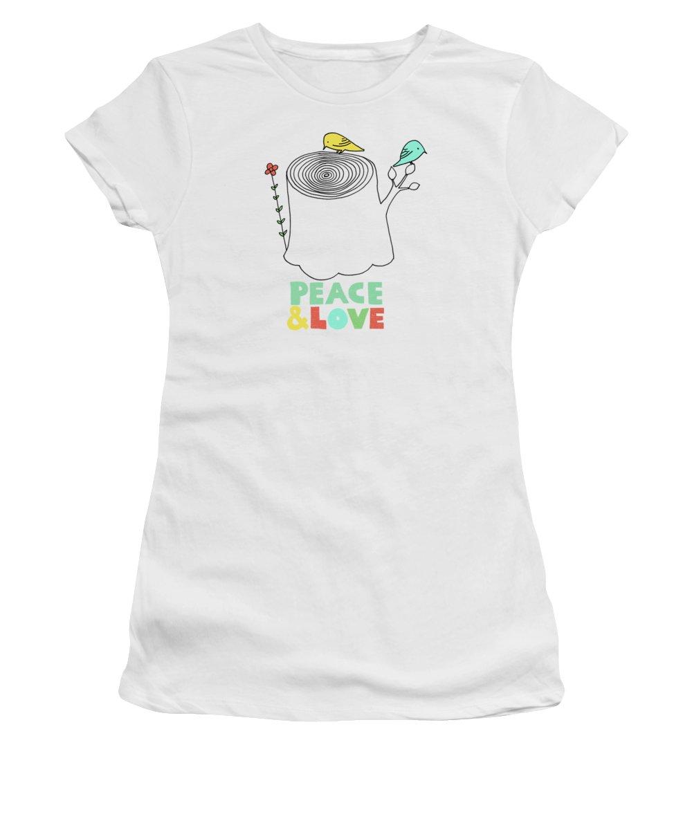 Tree Stump Women's T-Shirts
