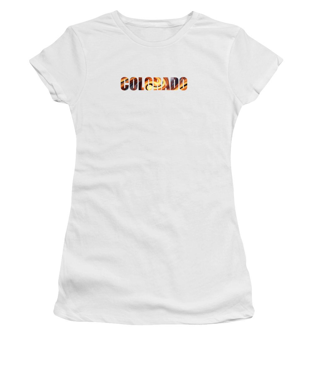 Colorado Women's T-Shirt featuring the photograph Colorado by Whispering Peaks Photography