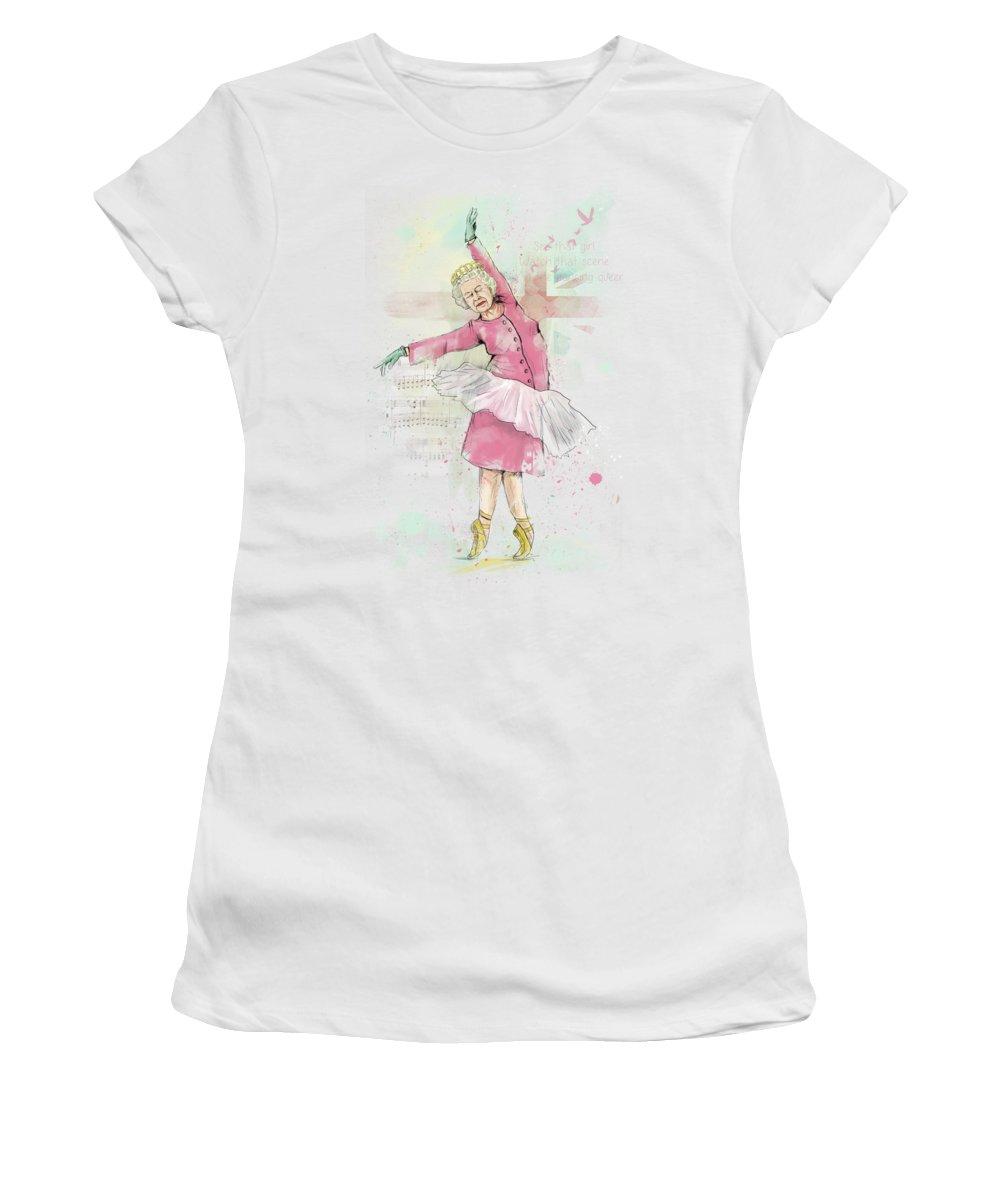 Dancing Women's T-Shirts