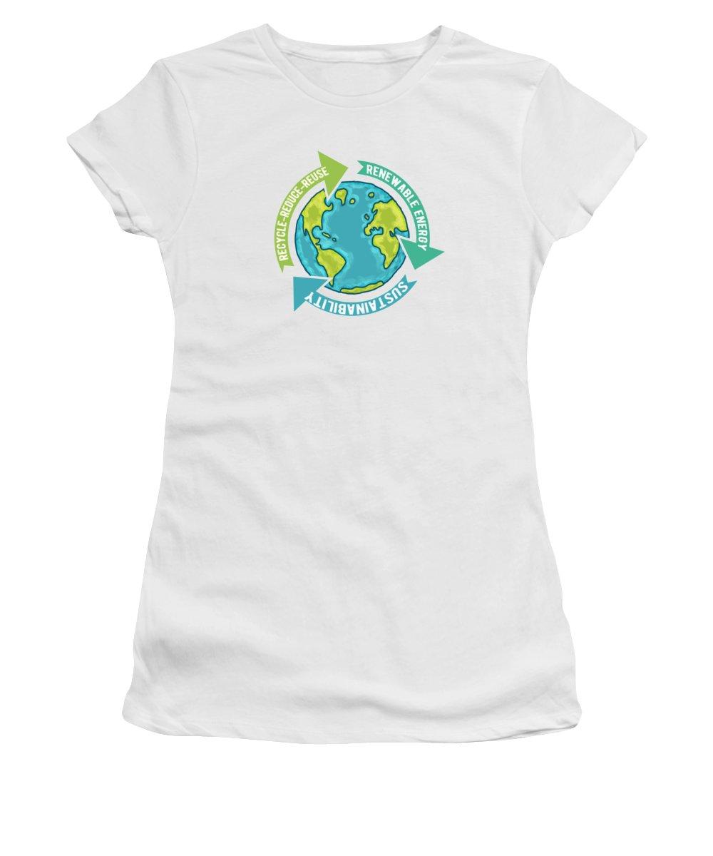 Reuse Women's T-Shirts