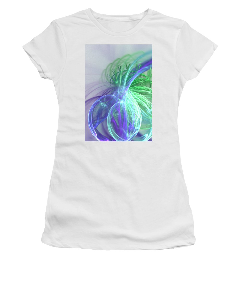 Pleasing Digital Art Women's T-Shirts