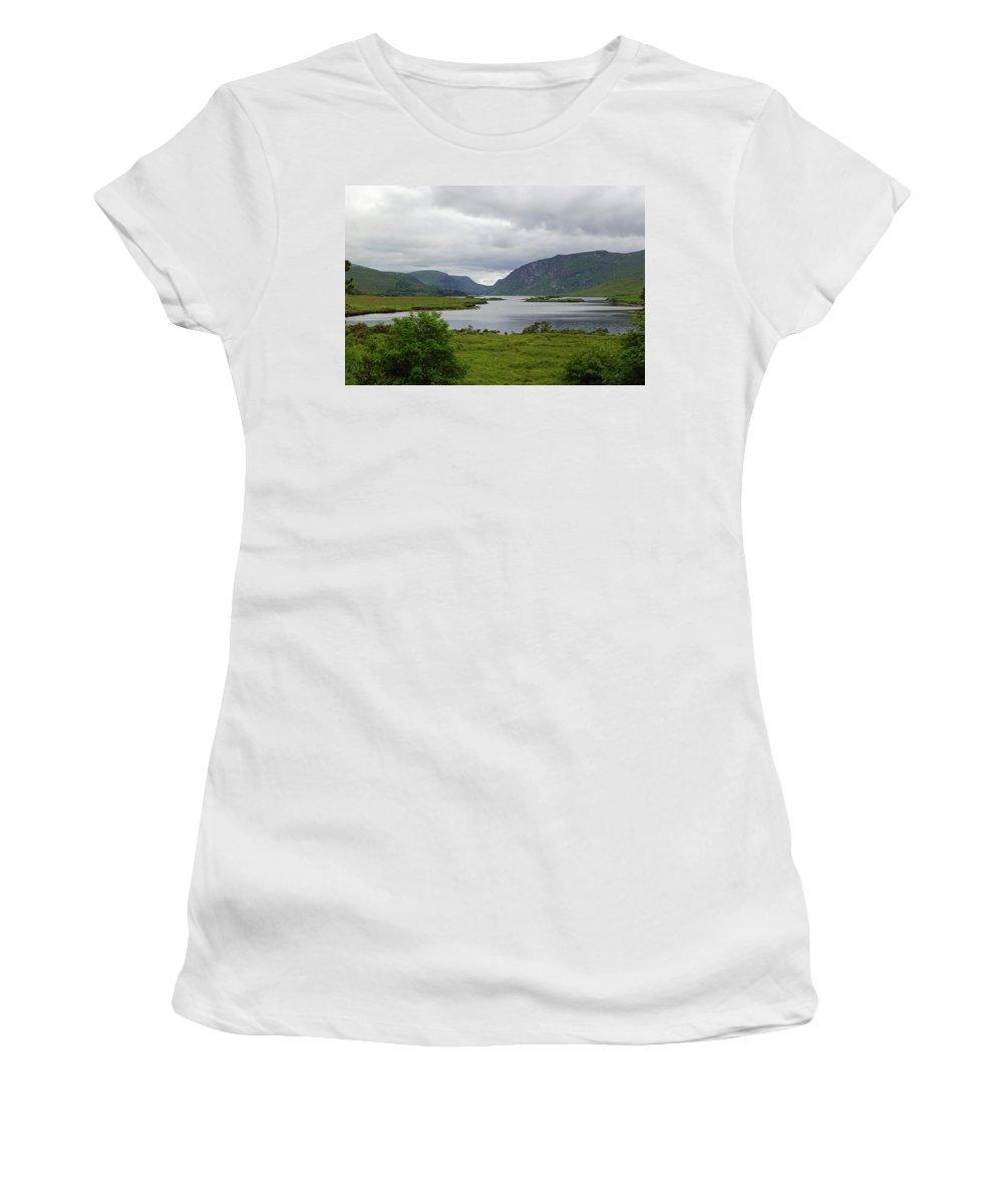 Mountain Women's T-Shirt featuring the photograph Glenveagh National Park by Babett Paul