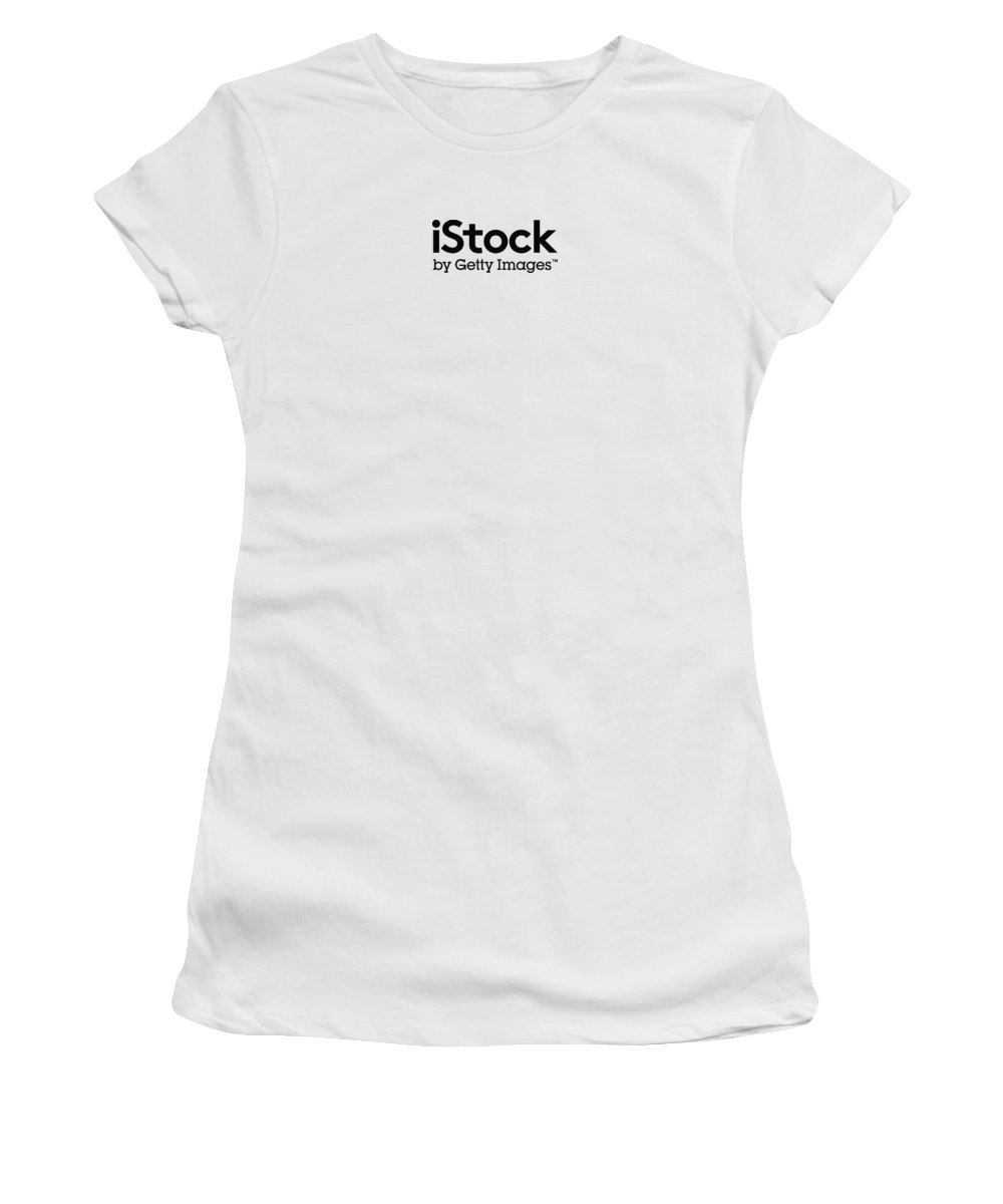 Getty Images Logo Women's T-Shirt featuring the digital art iStock Logo by Getty Images