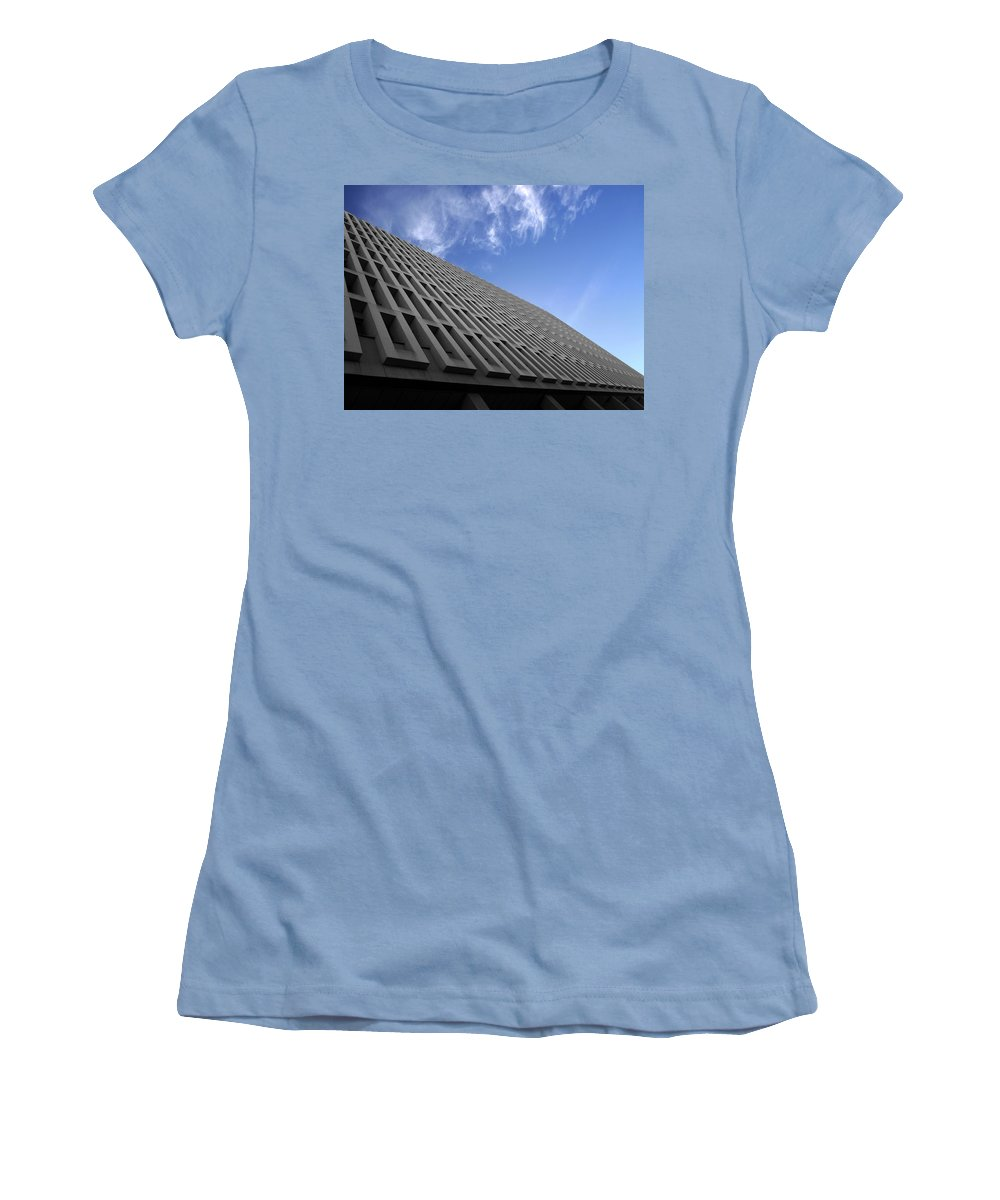 Building Women's T-Shirt (Athletic Fit) featuring the photograph ABC by Kelly Jade King