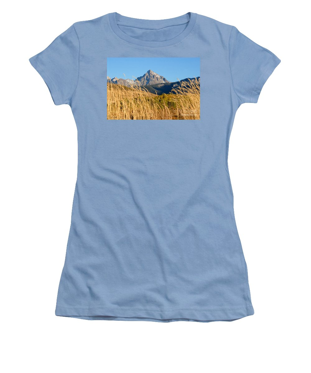 Fall Women's T-Shirt (Athletic Fit) featuring the photograph Autumn Day by David Lee Thompson