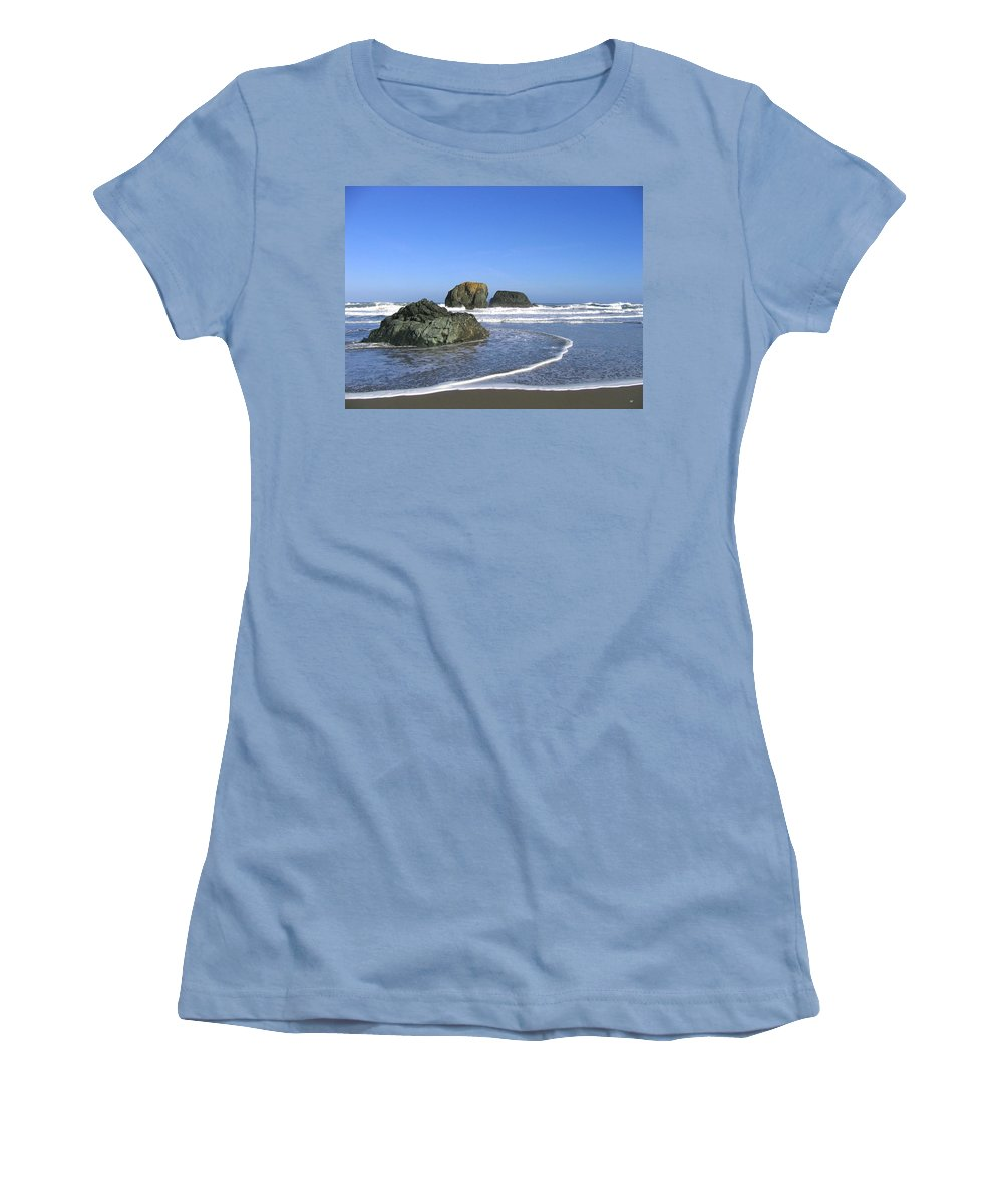 Bandon 5 Women's T-Shirt (Athletic Fit) featuring the photograph Bandon 5 by Will Borden