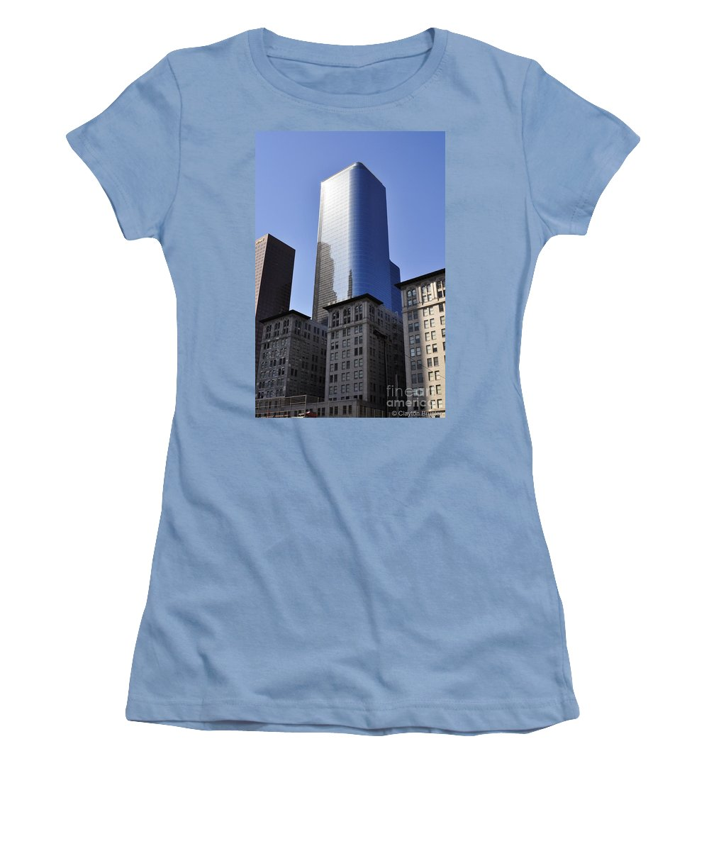 Clay Women's T-Shirt (Athletic Fit) featuring the photograph Dichotomy by Clayton Bruster