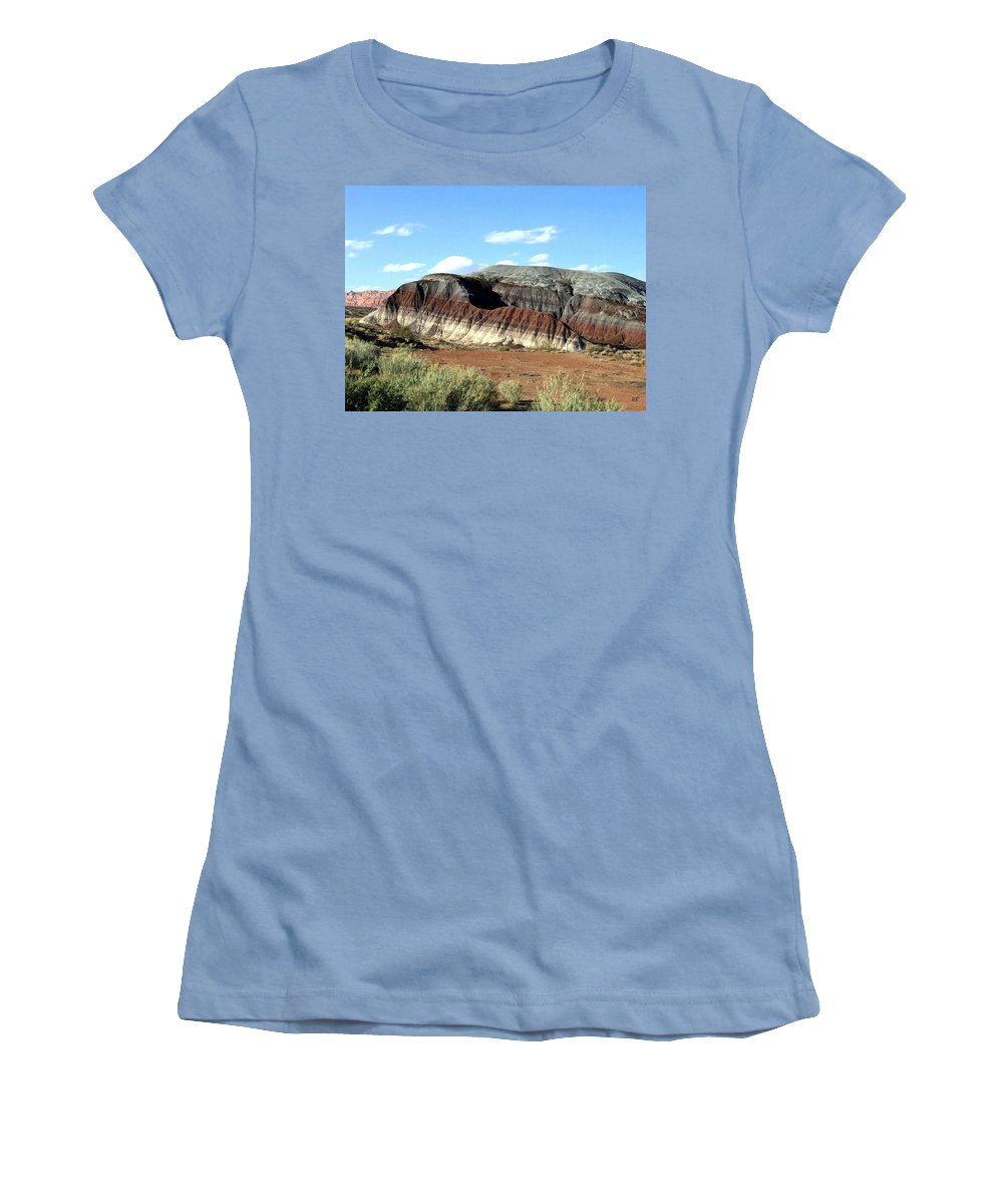 Arizona Women's T-Shirt (Athletic Fit) featuring the photograph Painted Desert by Will Borden