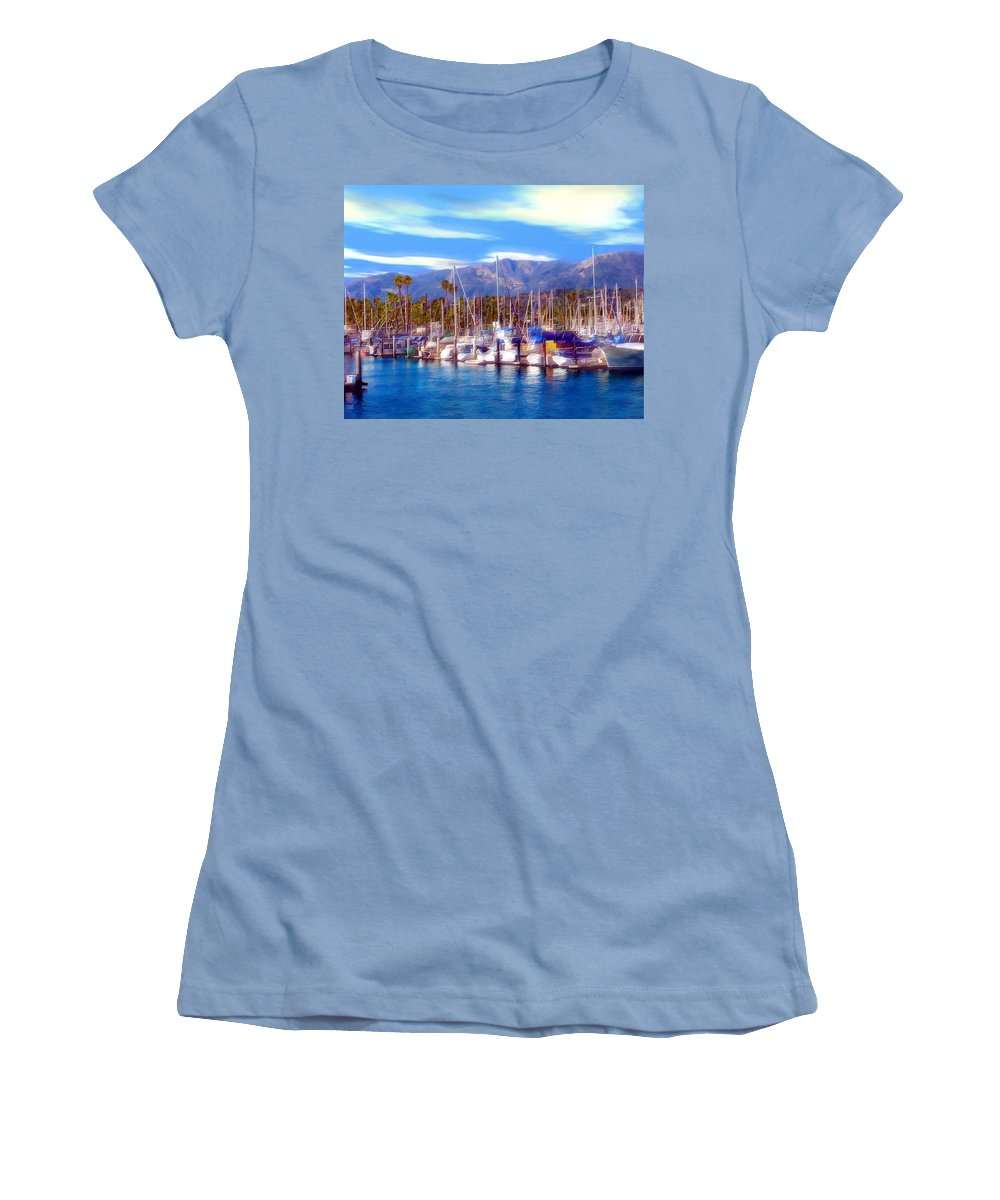 Charbor Women's T-Shirt (Athletic Fit) featuring the photograph Safe Haven by Kurt Van Wagner
