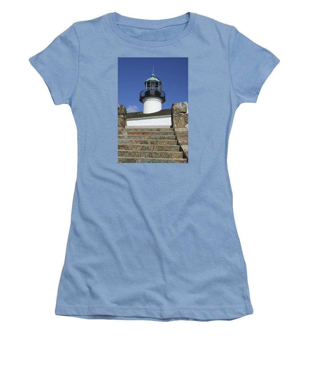 Bay Women's T-Shirt (Athletic Fit) featuring the photograph Up To The Light by Margie Wildblood