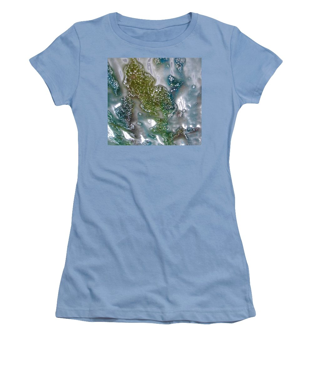Women's T-Shirt (Athletic Fit) featuring the photograph Wax On by Luciana Seymour