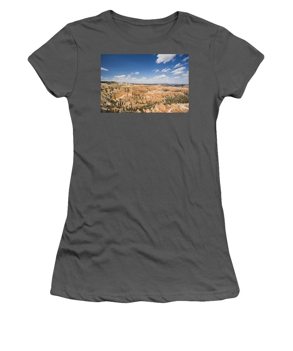 Landscape Women's T-Shirt (Athletic Fit) featuring the photograph Bryce Canyon National Park by David Davis