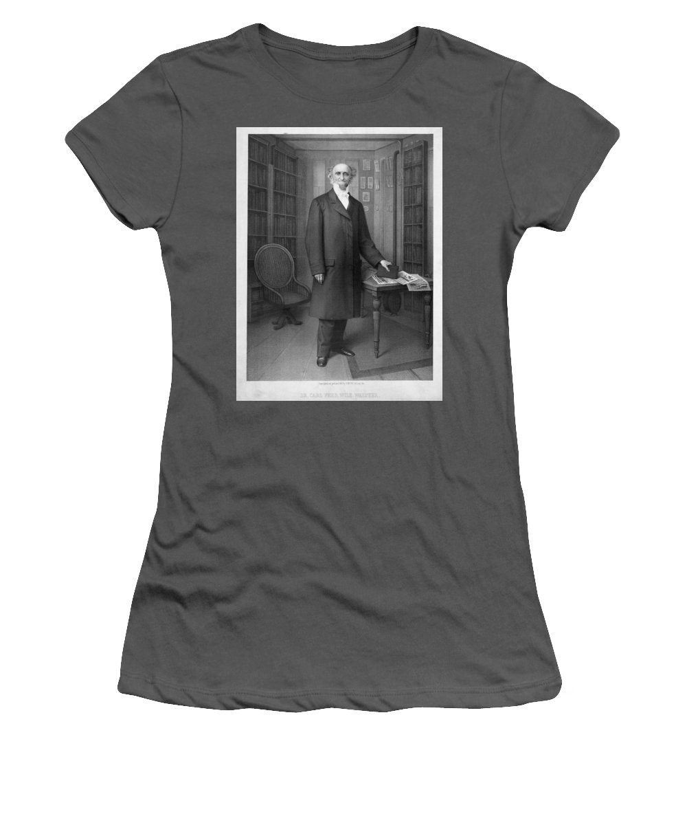 19th Century Women's T-Shirt (Athletic Fit) featuring the painting C by Granger