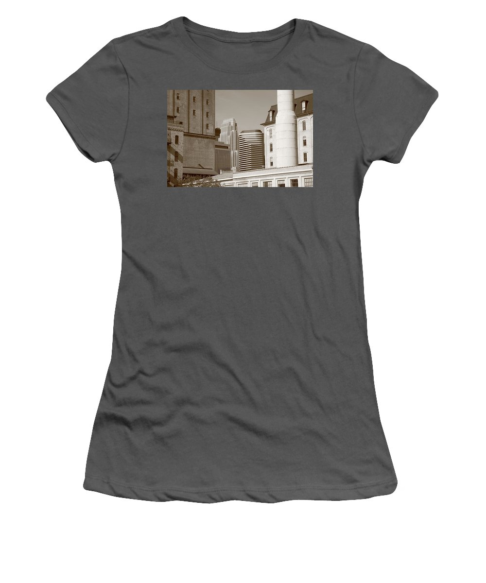 America Women's T-Shirt (Athletic Fit) featuring the photograph Minneapolis by Frank Romeo