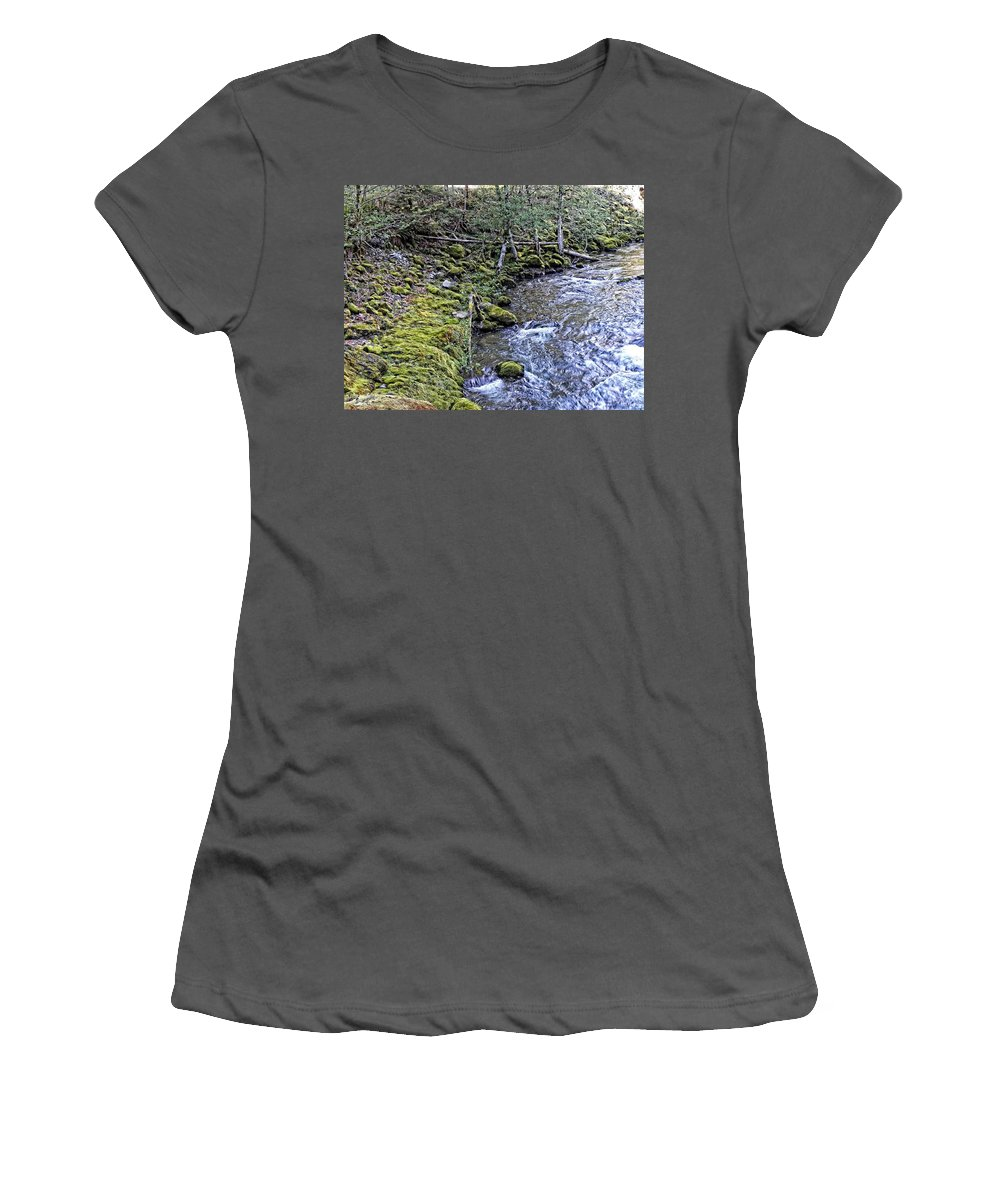 Oregon Women's T-Shirt (Athletic Fit) featuring the photograph Oregon by Image Takers Photography LLC