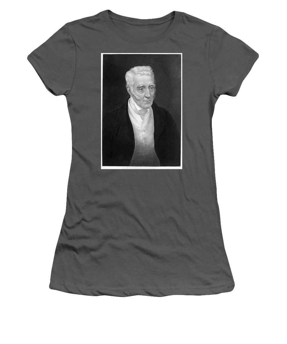 19th Century Women's T-Shirt (Athletic Fit) featuring the painting Duke Of Wellington (1769-1852) by Granger