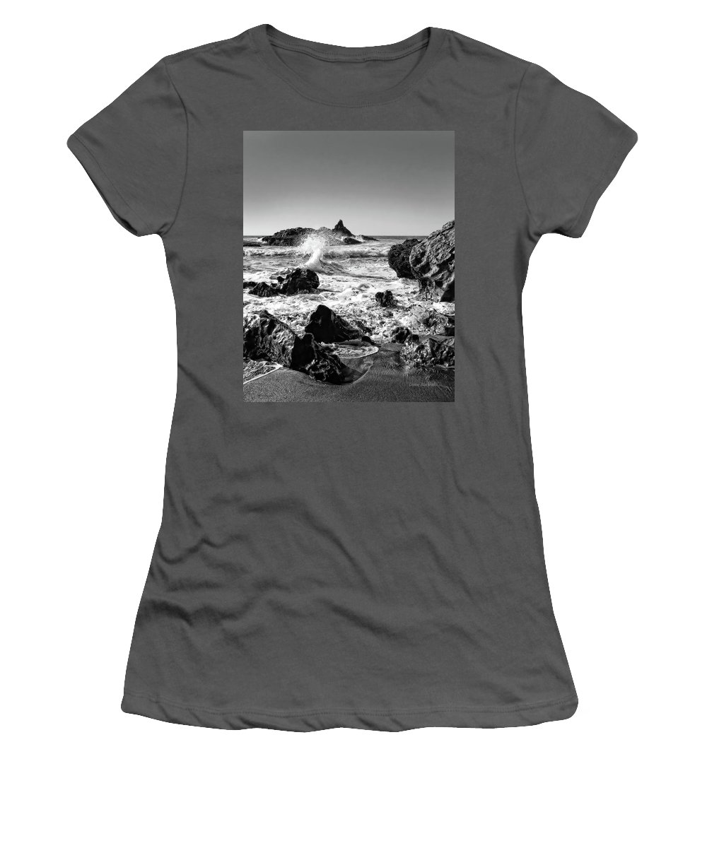 Ocean Women's T-Shirt (Athletic Fit) featuring the photograph Another World by Donna Blackhall