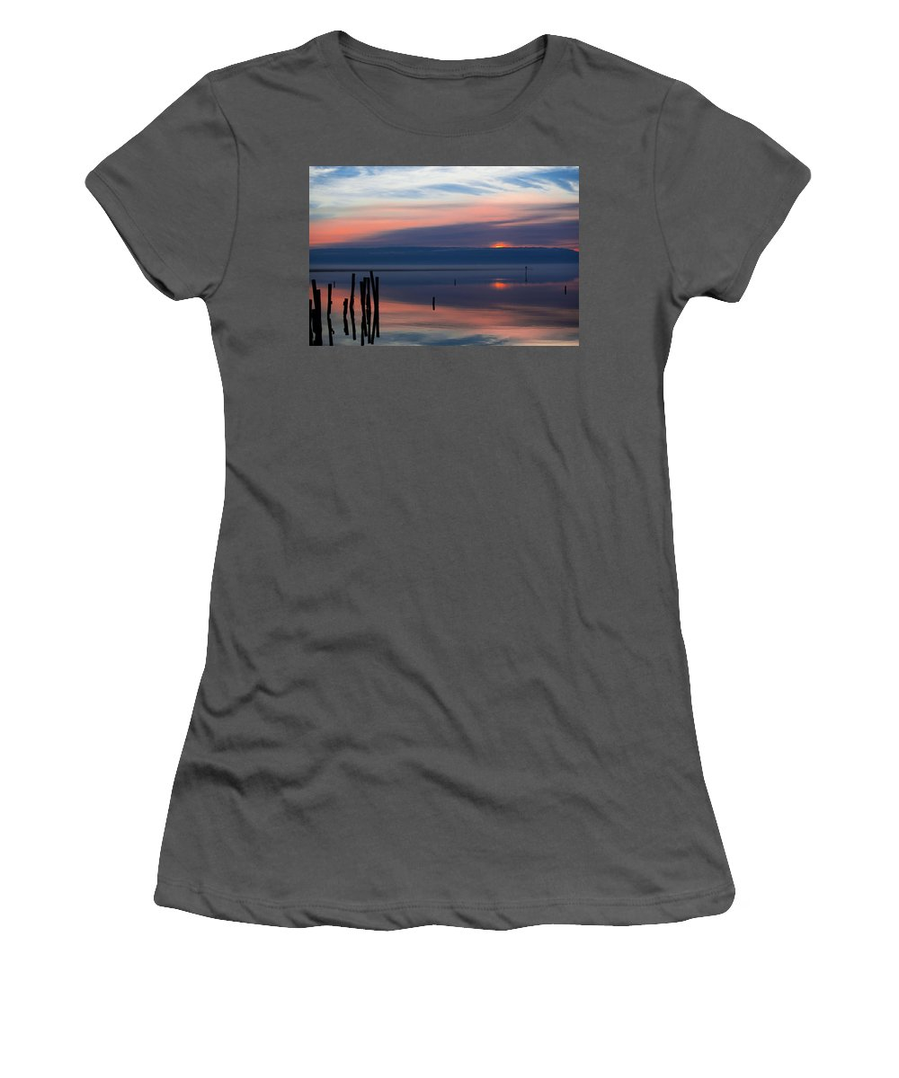 Davis Women's T-Shirt (Athletic Fit) featuring the photograph Ascension by Paula OMalley