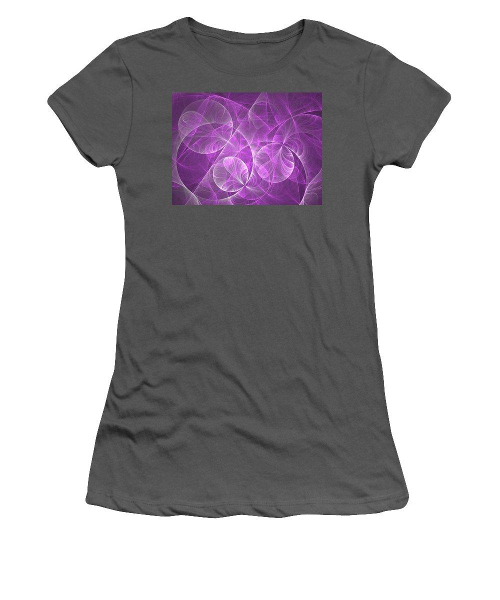 Digital Art Women's T-Shirt (Athletic Fit) featuring the digital art Dream Sequence 2 by Gabiw Art