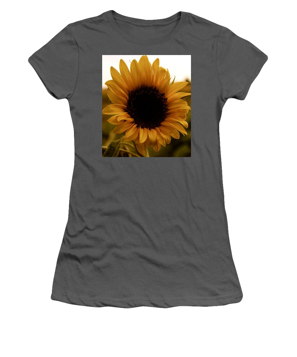 Flower Women's T-Shirt (Athletic Fit) featuring the photograph Fall Harvest by Tiffany Erdman