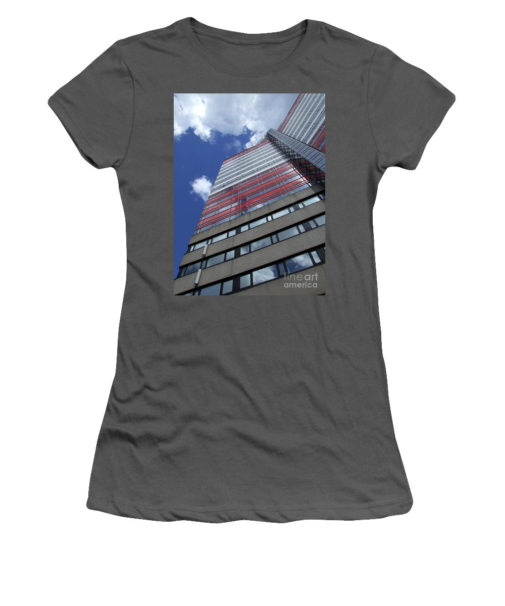 Apartment Women's T-Shirt (Athletic Fit) featuring the photograph Gothenburg Utkiken Tower 12 by Antony McAulay