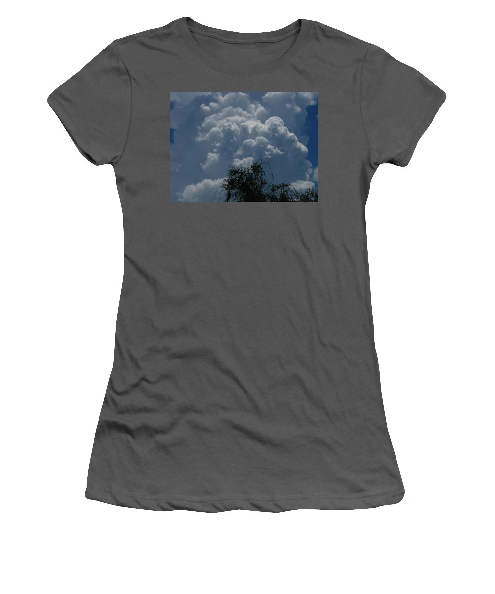 Patzer Women's T-Shirt (Athletic Fit) featuring the photograph I'm Thinking Rain by Greg Patzer