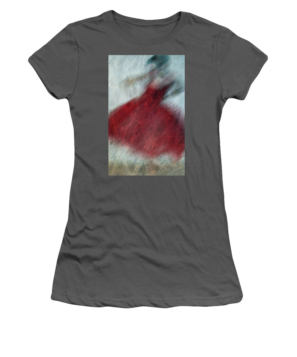 Love Women's T-Shirt (Athletic Fit) featuring the photograph Love Two Dance by The Artist Project