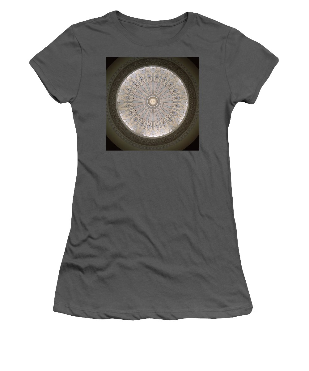 Asia Women's T-Shirt (Athletic Fit) featuring the photograph Luminous by Shaun Higson