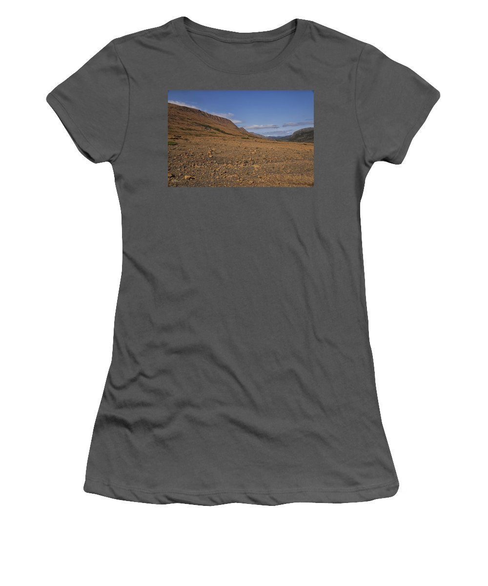 Tablelands Women's T-Shirt (Athletic Fit) featuring the photograph Mars On Earth by Eunice Gibb
