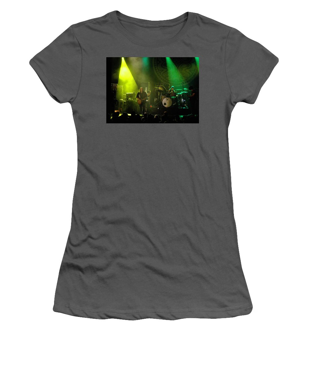 Gov't Mule Women's T-Shirt (Athletic Fit) featuring the photograph Mule #8 by Ben Upham