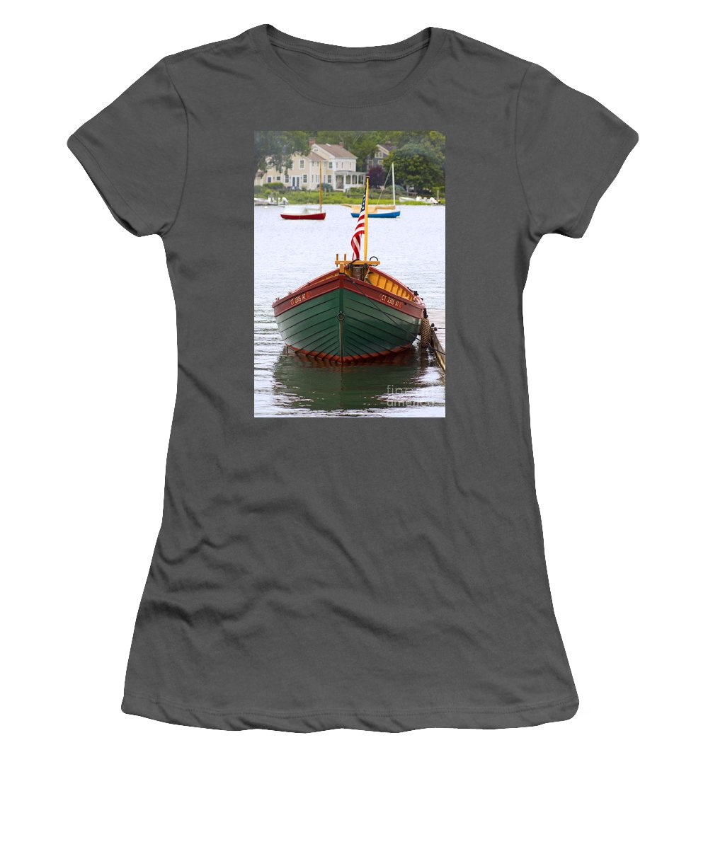 Mystic Women's T-Shirt (Athletic Fit) featuring the photograph Perfect Launch by Joe Geraci