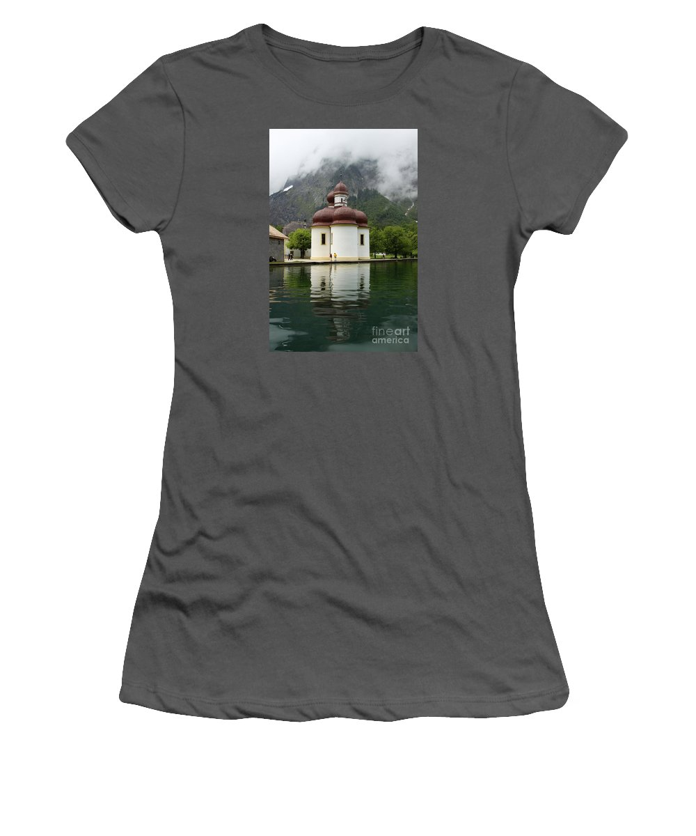 Church Women's T-Shirt (Athletic Fit) featuring the photograph St. Batholomae Church by Christiane Schulze Art And Photography