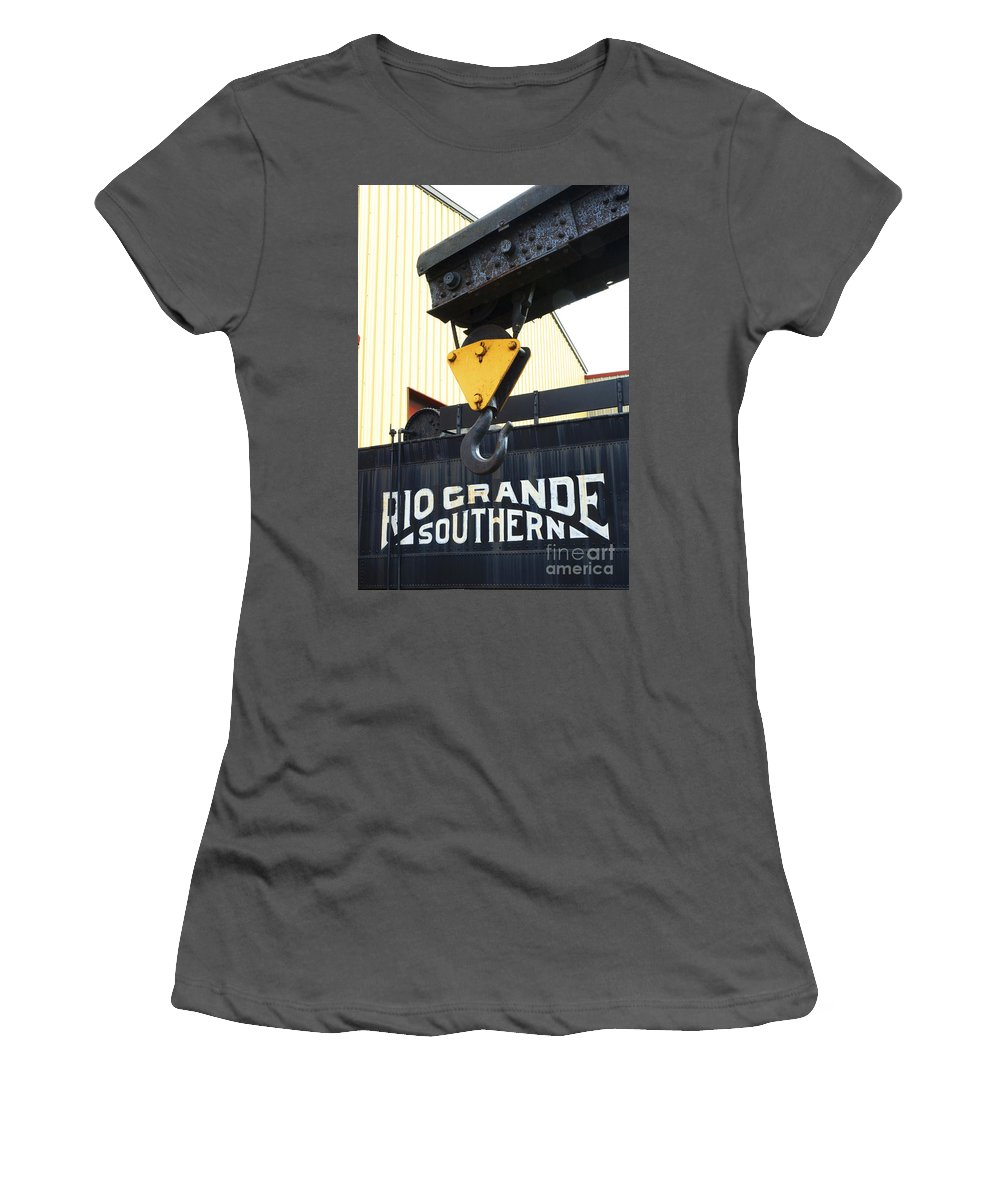Strasburg Women's T-Shirt (Athletic Fit) featuring the photograph Wrecker Hook by Paul W Faust - Impressions of Light